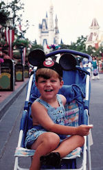 Me in front of Cinderella Castle.