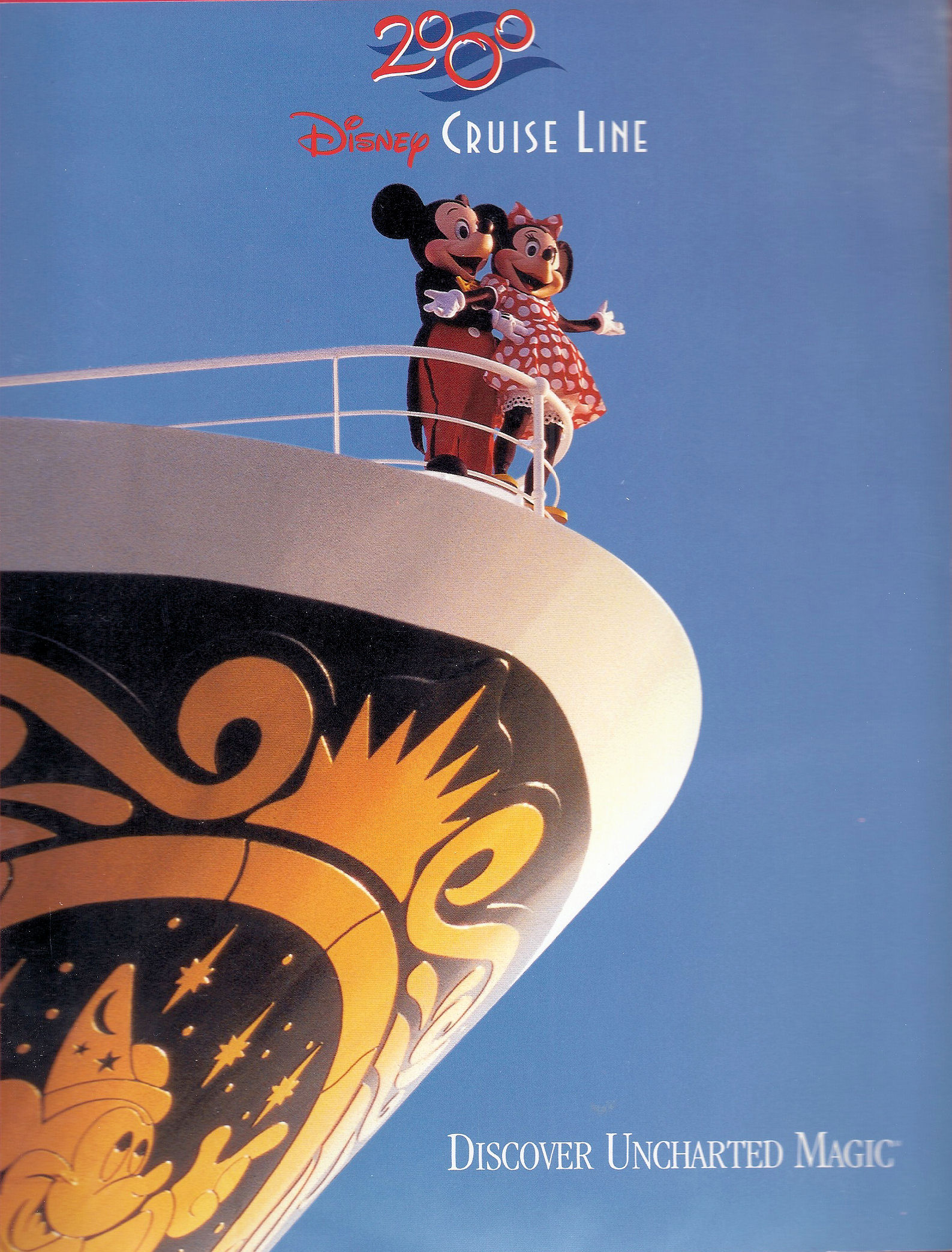 An ad for the Disney Cruise Line.