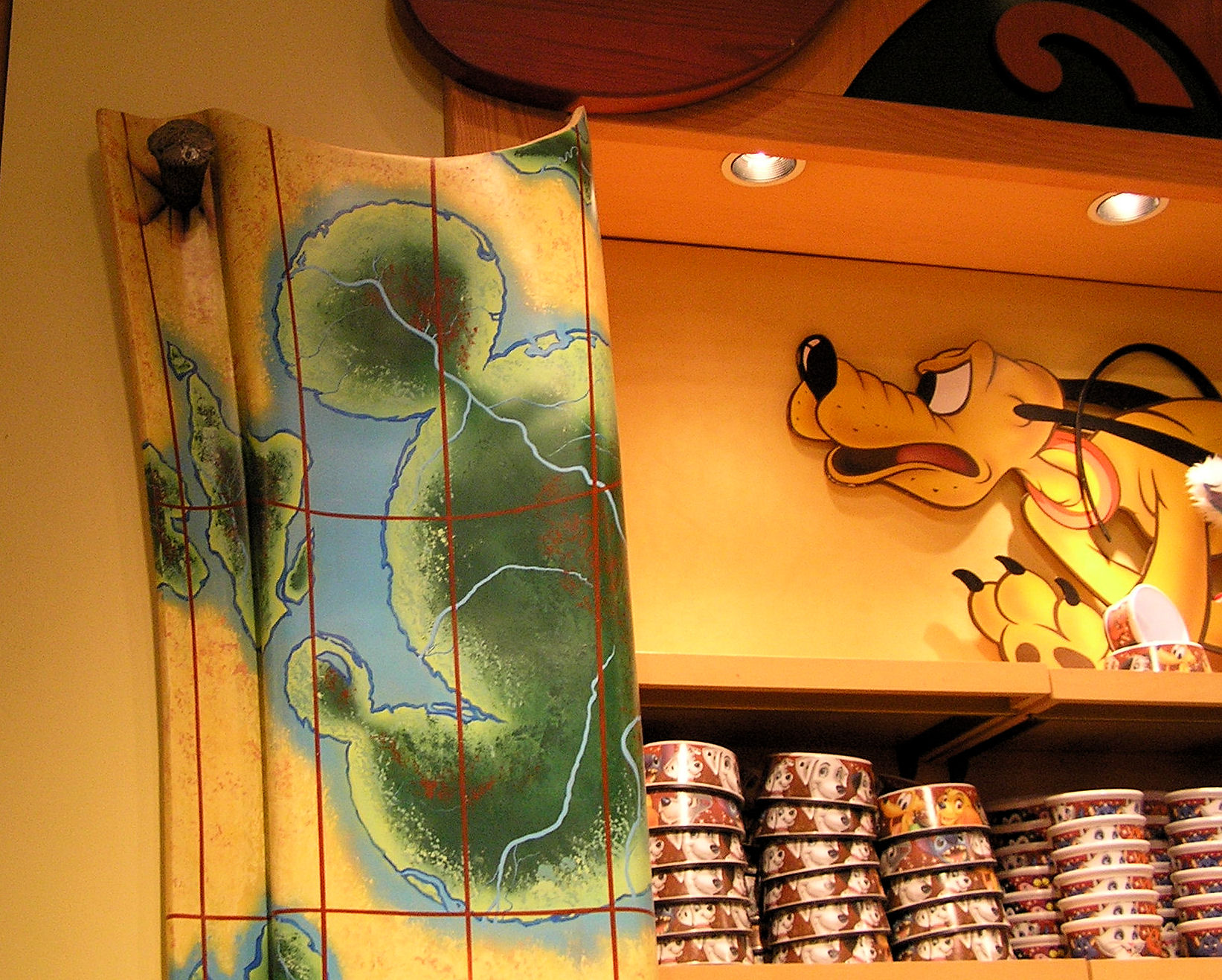 The World of Disney Store at Downtown Disney at Disney World.