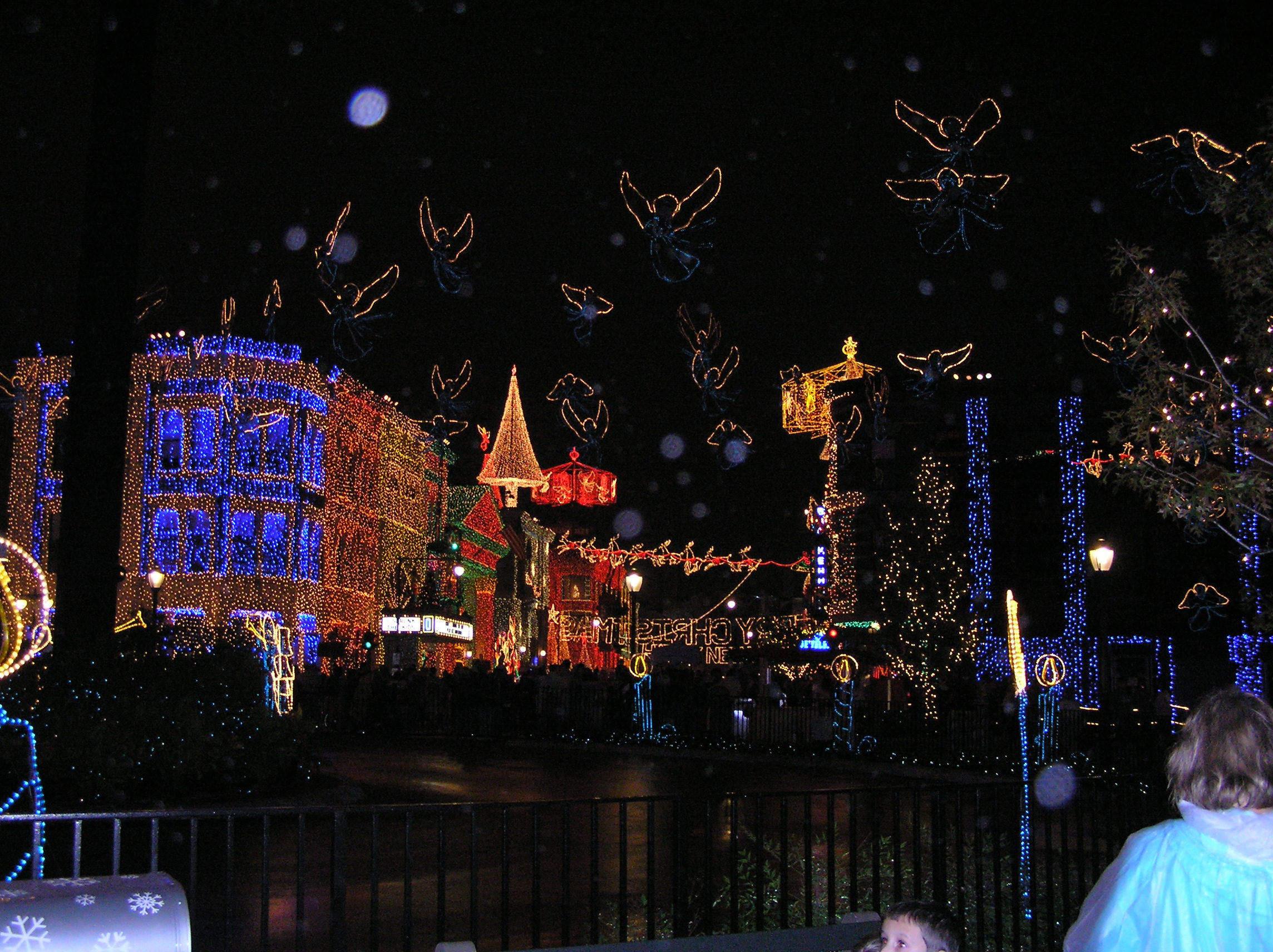 The Osborne Family Spectacle of Lights, a seasonal Christmas celebration at Disney's MGM Studios.