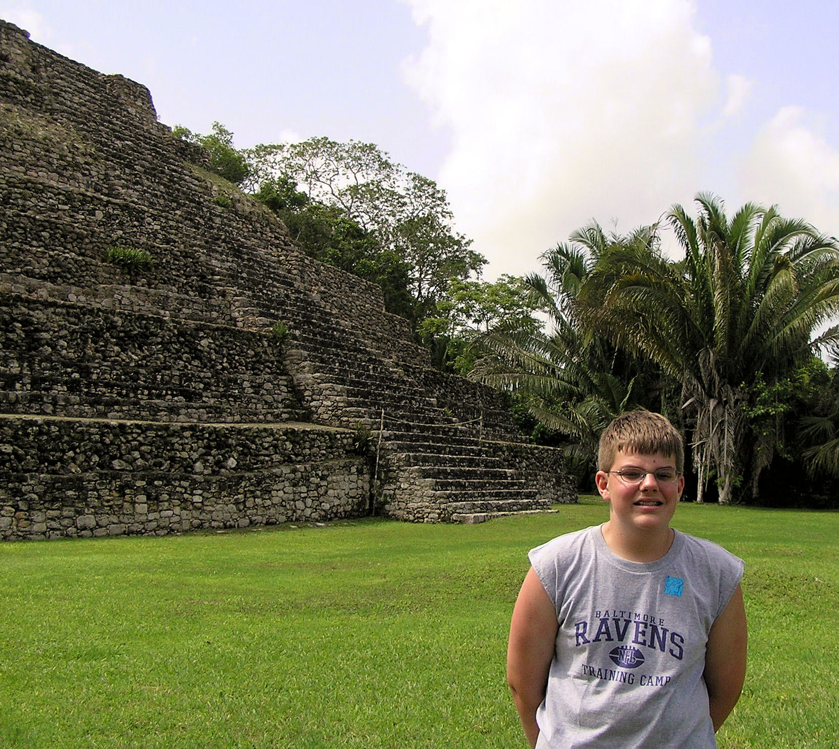 Me in Costa Maya, Mexico—an excursion on the Disney Cruise Line.