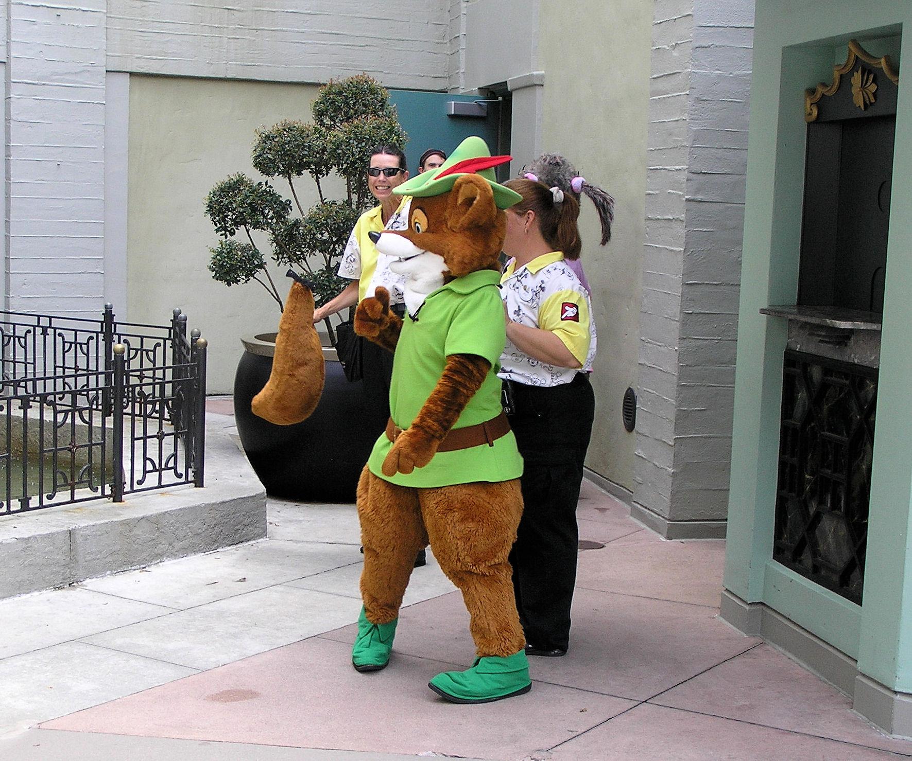 Disney World Wardrobe Malfunction