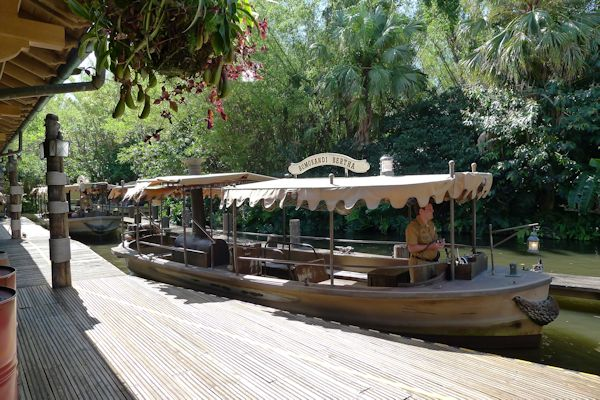 Going on the Jungle Cruise.