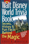 Walt Disney World Trivia Book