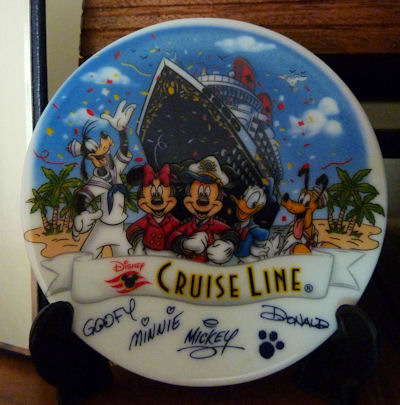 Commerative Plate - Disney Cruise