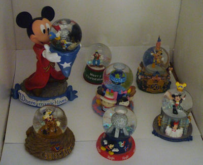 Disney Snowglobe Collection