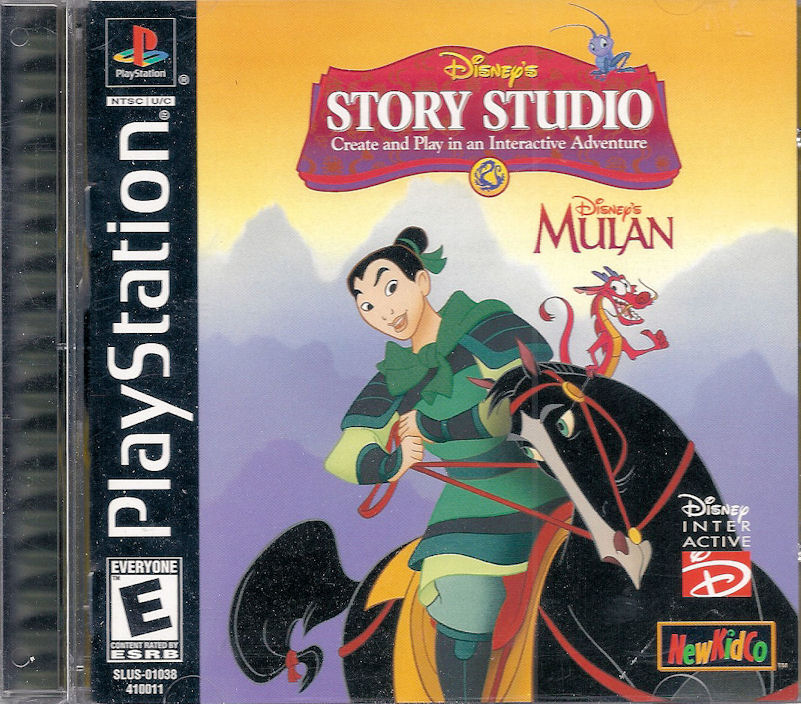 Mulan Story Studio for PlayStation Nightmare Ned for Personal Computer