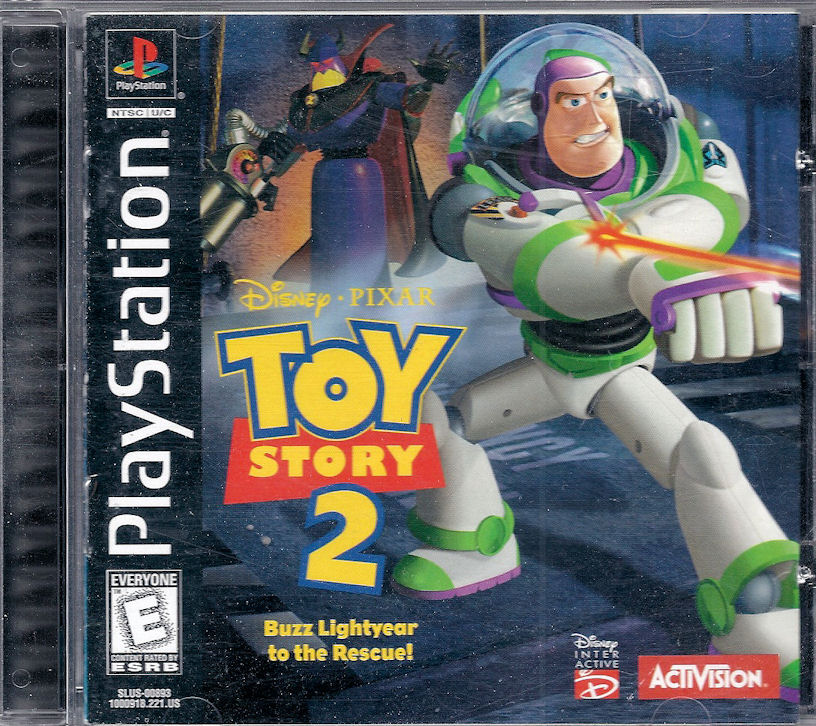 Activity Center for Personal Computer Toy Story 2 for PlayStation